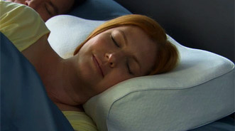 Brookstone Anti-Snore Pillow